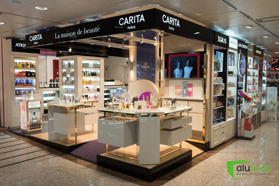 Carita el Corte Inglés Castellana (Madrid).