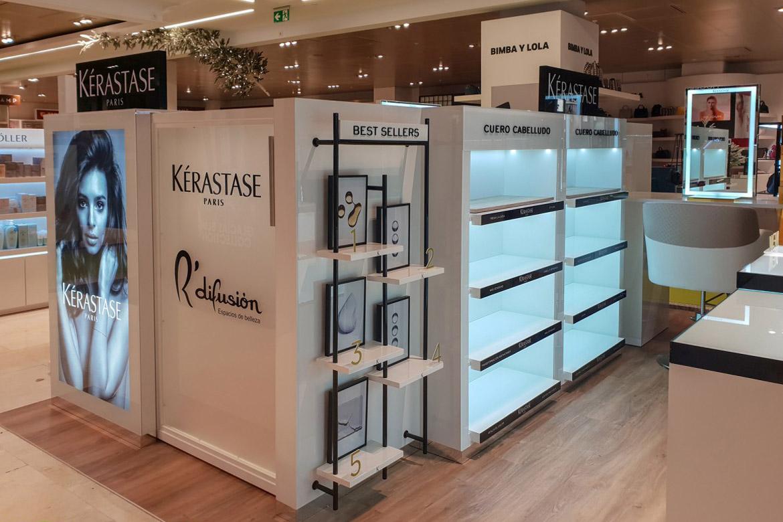 stand Kerastasse shop in shop