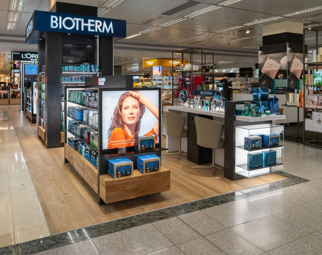 Stand Biotherm ECI Lisboa