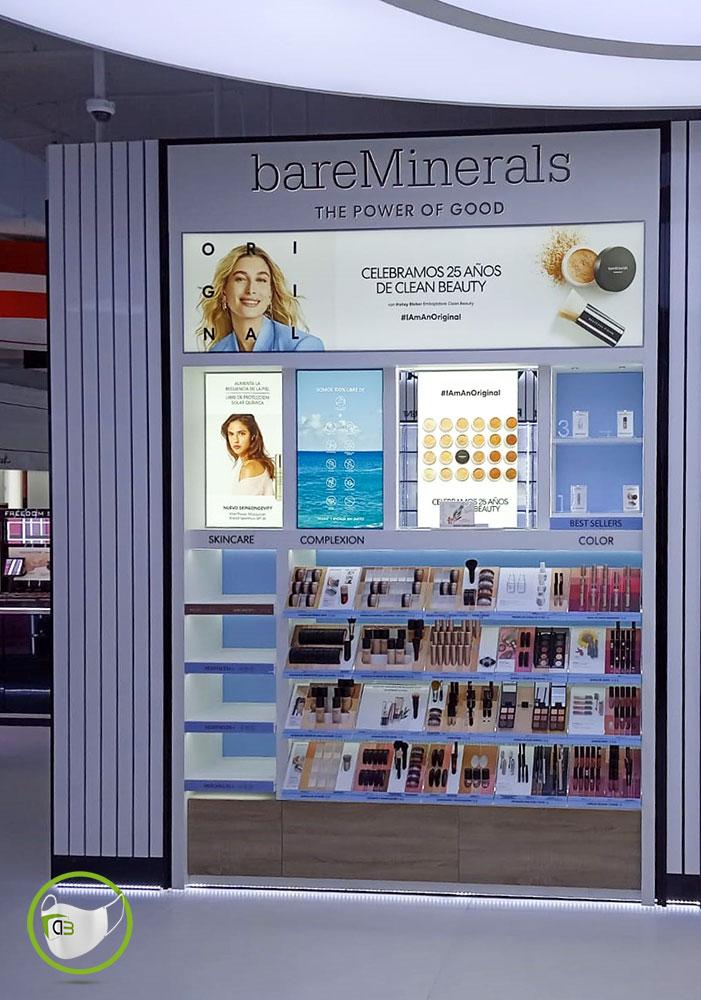 Backwall bareMinerals